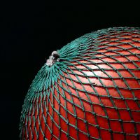 Buoy in a net by ukwreckdiver