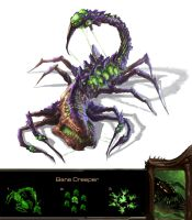 Zerg Bane Creeper by Phill-Art