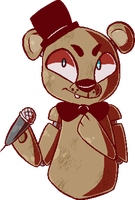 Freddy Fazbear by little-deity