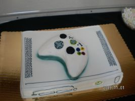 XBOX 360 Wedding Cake by MethosValdir