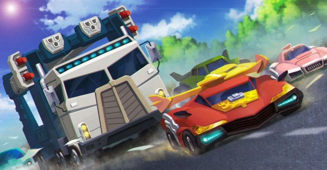 The Autobots roll out by zhuyukun