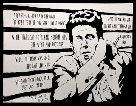 Singer Songwriter Series #1 Tom Waits 'Hold On' by MarkItZeroNET