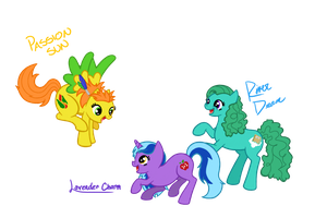 MLP Sisters by Chiharu02