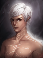 Fenris , Tevinter Fugitive by Po-ru