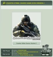 Counter-Strike: Source Icon v2 by CODEONETEAM