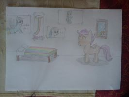 decoration by scootaloo by beginerbrony