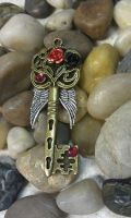 Dark Angel Fantasy Key by ArtByStarlaMoore