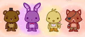 Five Nights at Freddy's by PuppiesLove