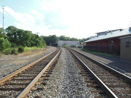 Culpeper Station Southbound View by rlkitterman