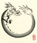 Dragon Enso by catherinejao