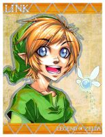 KID Link - portrait by DreamworldStudio
