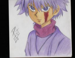 Killua Zoldyck by GhostH0002