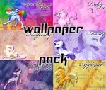 MLP wolves wallpaper pack by LiatLNS