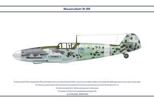Bf 109 G-4 Italy 1 by WS-Clave
