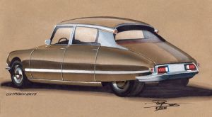 Citroen DS19 by PPLBLISS