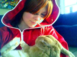 I found a bunny!! by InvisibleCosplayer