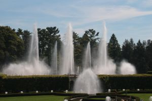 Main Fountain Garden by jswis