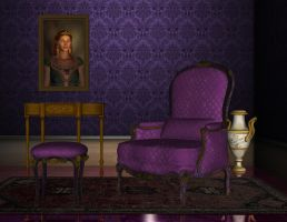 Premade room 02 violet by Ecathe