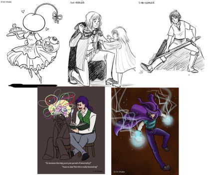 CTN Commissions 2013 by kalkie