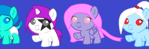 More pony adopts (closed) by Firegirl1015