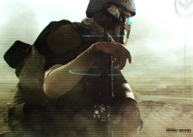 Ghost Recon Future Soldier Official Art #9 by DarkApp
