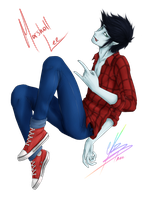 Marshall Lee by Karushy