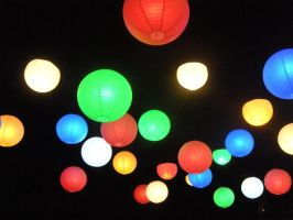 Floating Lights by KillerCassie