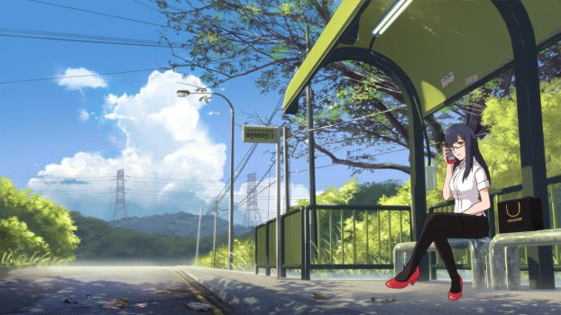 Bus Stop 2017 by mclelun