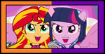 MLP FIM Stamps - SunLight Moirails by Britishgirl2012