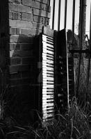 The Abandoned Piano III. by Alonir