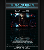 Dark Princess .PSD by RodTheSecond