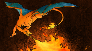 Charizard Fwoosh by Incoherrant