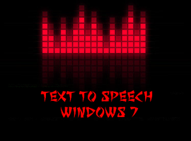 Win7 Text To Speech - Hal Web Reader by ZombieGroundSquirrel
