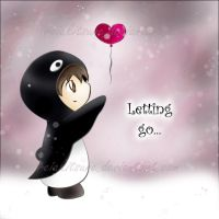 Letting go by silverei