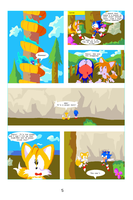 Sonic the Hedgehog the Comic pg 5 by bulgariansumo