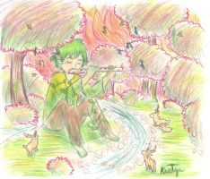 A Dryads Melody by Friendlyfoxpal