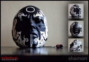 Shaman Mask by kellerfaces