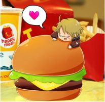 america burger...OMG THIS PICS SO OLD by Maisami-chan