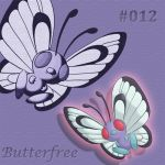#012 Butterfree by ChaoticAngel93