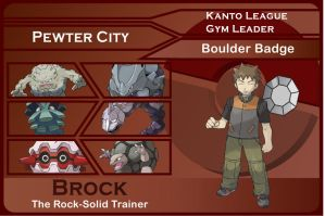 Kanto Gym Leader 2-Brock by JohnRiddle20