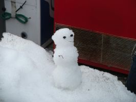 Hakone Mini Snowman Japan by chaobreeder16