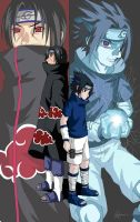 Uchiha brothers by himiko