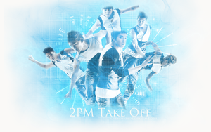 2PM Take Off Wallpaper by yournewhero