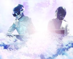 Daft Punk Live wallpaper by Heriorh