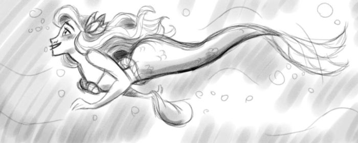 Swimmin' in the Sea by s0alaina