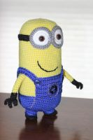 Despicable Me Minion amigurumi doll by Npantz22