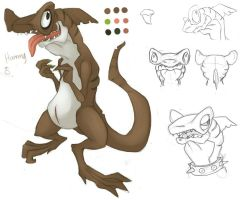 OC SHARKS: Concept 01 Hammy by Kisahada