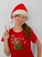 Merry Christmas, and read my shirt XD by Ask-Spice-Neru