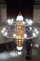 Over the top chandelier by barefootliam-stock