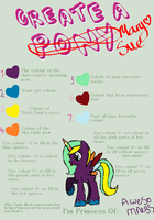 Mlp Mary Sue Maker Meme by SweetCandyAoife